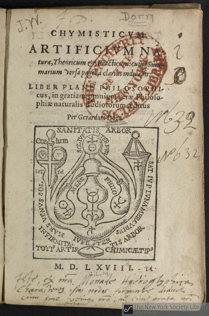 Chymisticum artificium naturæ, theoricum & practicum : cuius summarium versa pagella clariùs indicabit : liber planè philosophicus, in gratiam omnium veræ philosophiæ naturalis studiosorum æditus